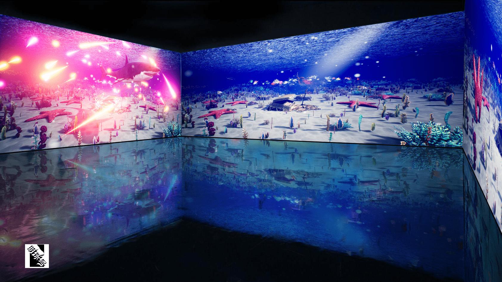 见过这样的沉浸式数字游乐园吗