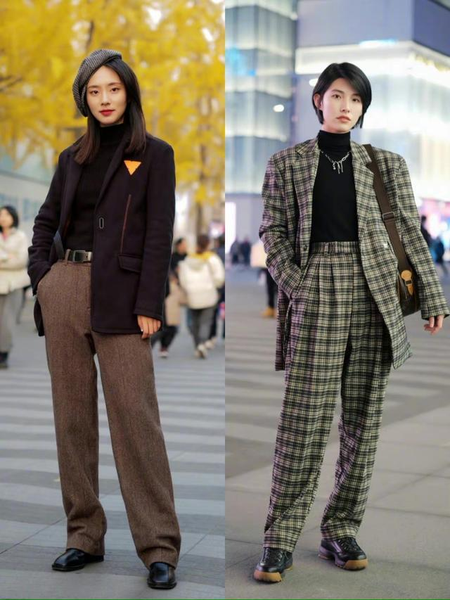 40+的女人这样穿,优雅得体更有女人味,冬天里也是时尚女神