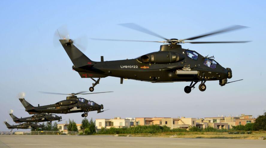 中国最新一代武装直升机,重量达10吨级,性能能超过阿