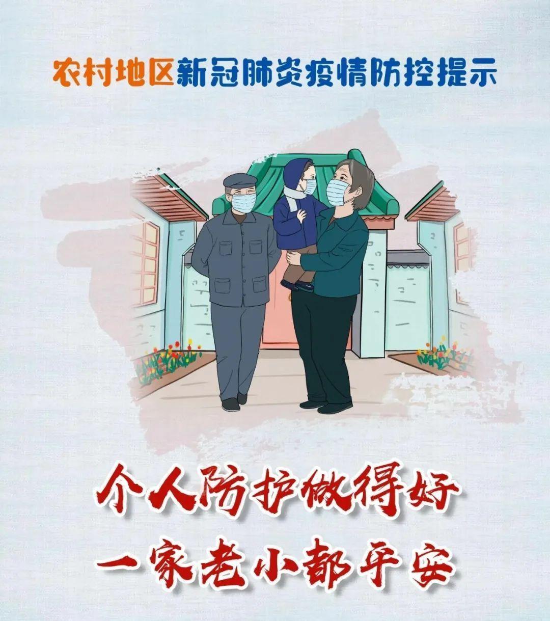 注意!农村地区新冠肺炎疫情防控这些提示你需要知道...