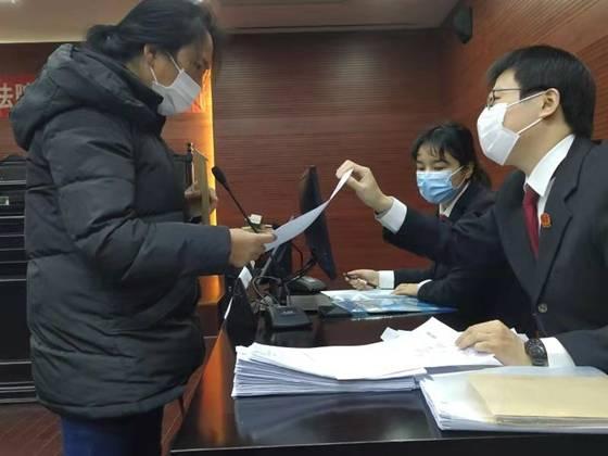 宝山法院开展春节前涉民生专项执行行动 发放执行款共计350余万元