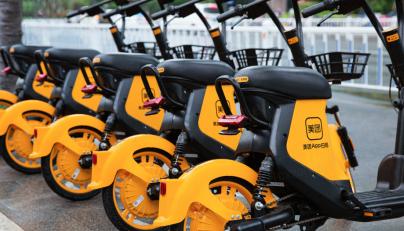 国家首批《绿色技术推广目录》公布 美团共享电单车技术入选