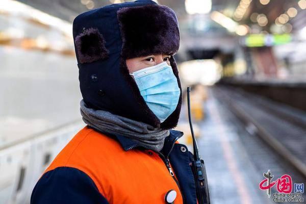 """落实疫情防控措施 科学组织运能运力守护好""""开往春天的列车""""[组图]?"""