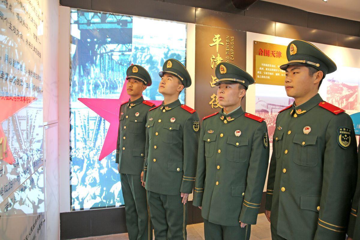 天津武警:从党史军史学习教育中汲取智慧力量