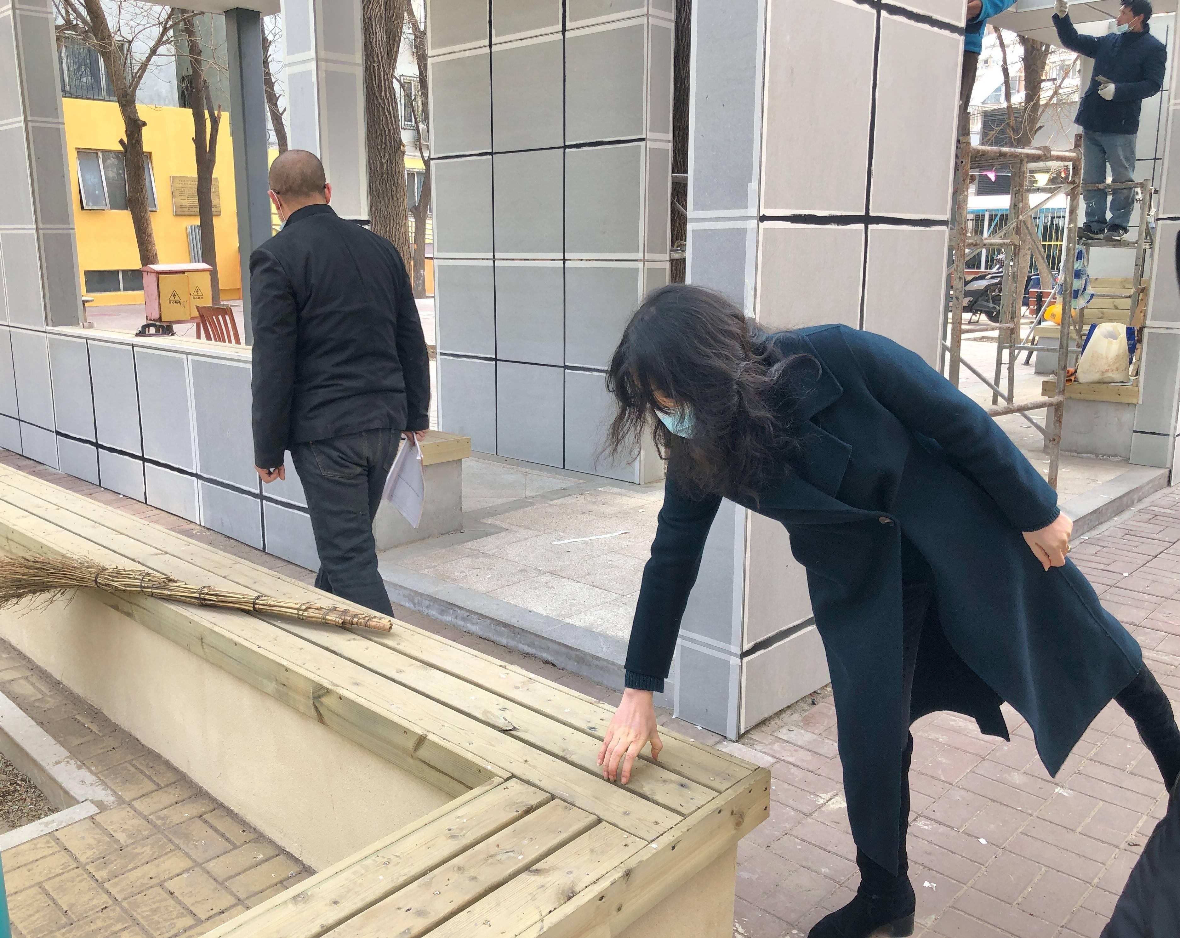 规划师新春进社区,惠新西街老旧小区改造进行时