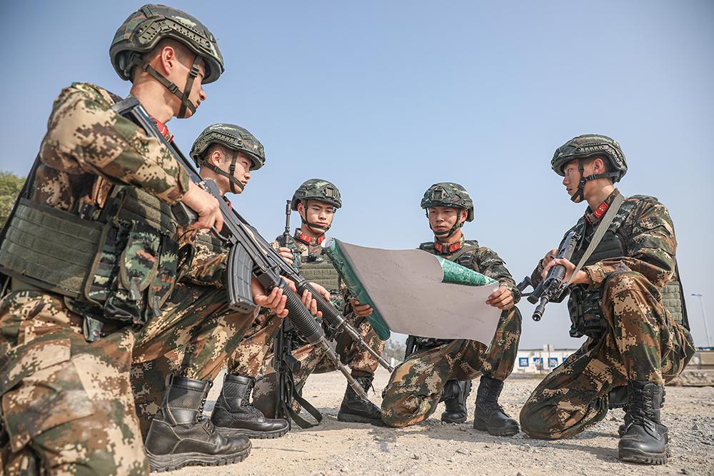 武警防城港支队:节后开训忙,练兵为打赢