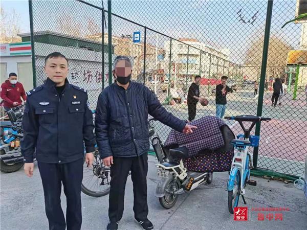 张店一男子偷车泄愤 终换来十日拘留