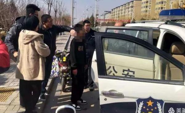岚县:男孩轻生跳河 民警快速救援