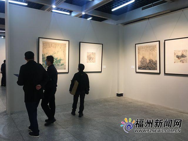 """《清肺排毒汤组画》董希源创作展""""在福州举办"""