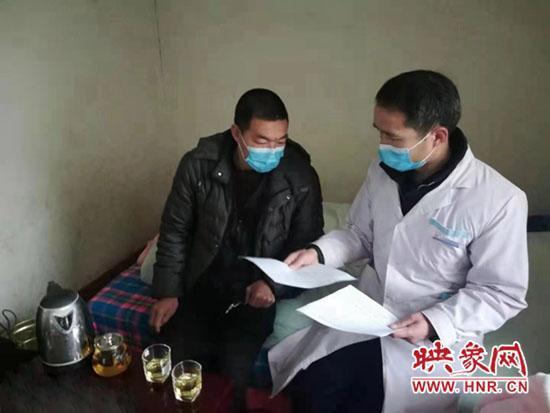 伊川县乡村医生冯政伟:扎根乡村 为乡亲建设生命通道