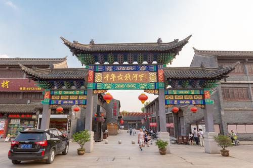 中国南北分界线上的古镇,有一副对联难倒天下客,百年来无人对出