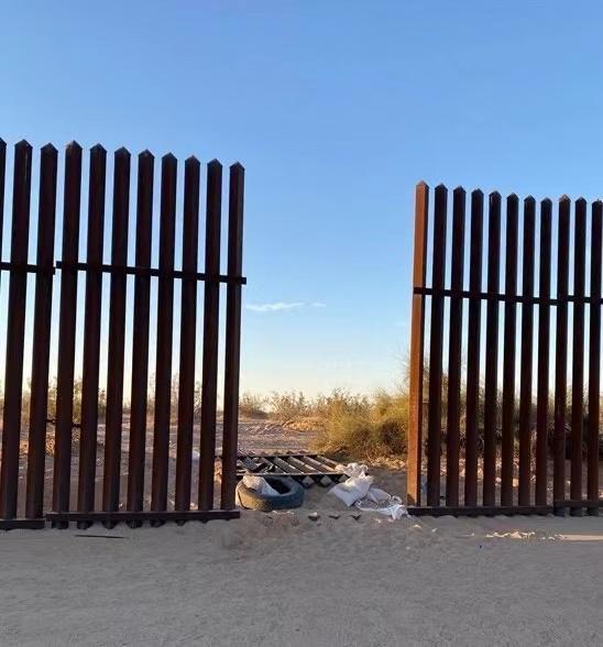 美国加州2日车祸系重大人口走私案件,边境墙遭蓄意破坏
