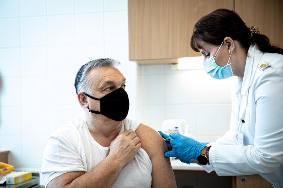 接种中国新冠疫苗后 匈牙利总理:感觉很好 大家尽快接种