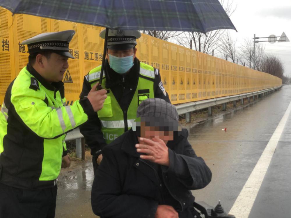 """雨雪交加,东海民警这波""""操作""""十分暖心!"""