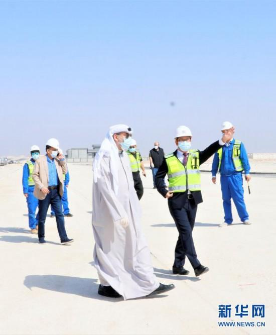 中企承建科威特住房基建工程项目实现总体移交