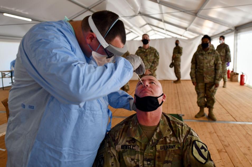 """为应对新冠疫情,美军着手研发""""新冠病毒空气探测器"""""""