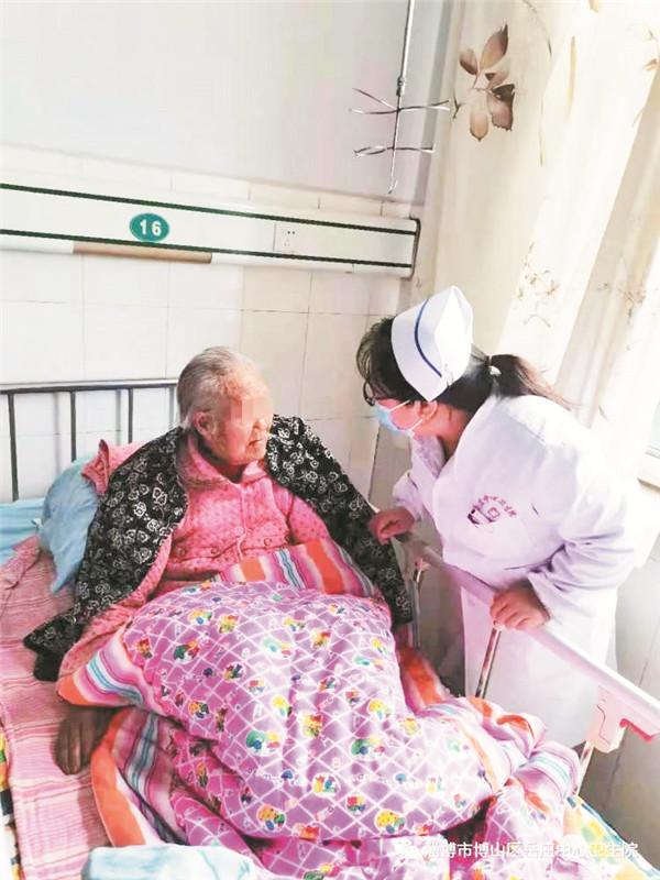 误服农药的98岁老人获救了