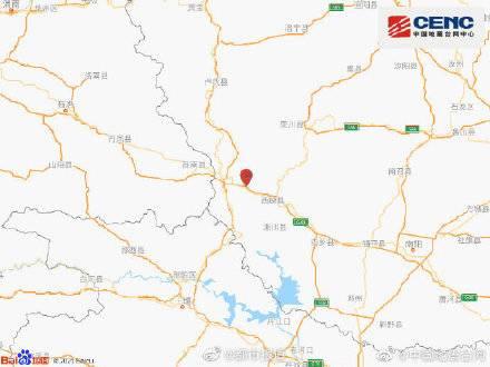 河南南阳市西峡县发生3.0级地震,震源深度7千米