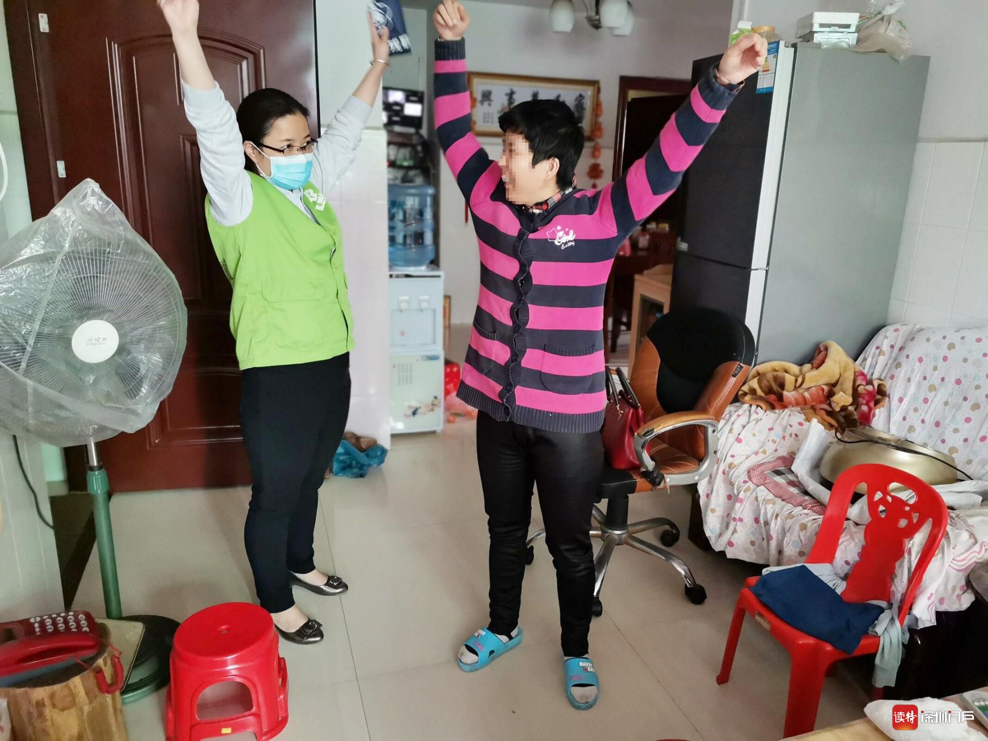 在助残路上,东莞社工赖丽鸿传递爱的力量和有温度服务