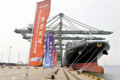 更好服务国内国际双循环新发展格局 天津港开通海