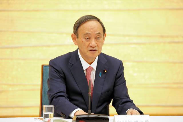 """日本首相菅义伟宣布东京、京都、冲绳适用""""防止蔓延等重点措施"""""""