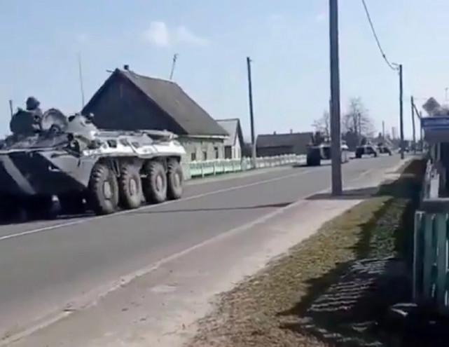 白俄罗斯军队异动,正在向乌克兰边境集结,想肢解乌克兰?