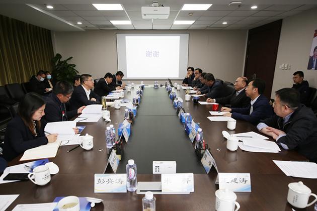于庆丰走访有研科技集团有限公司