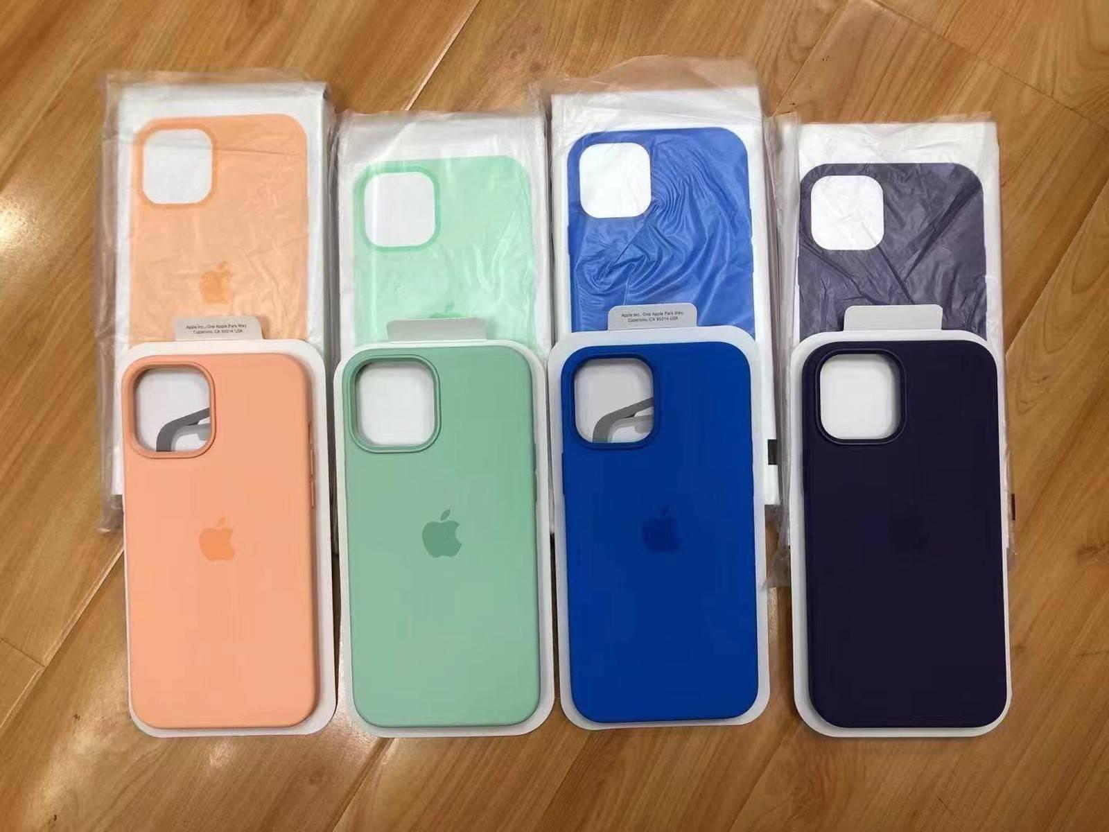 iPhone 12 保护套春季配色曝光:你会 Pick 哪款?