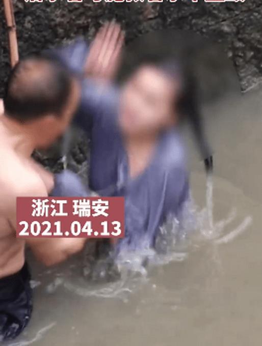 浙江一女子跳河轻生,拒绝救援的她直接扇了施救男子一巴掌,网友:心寒!