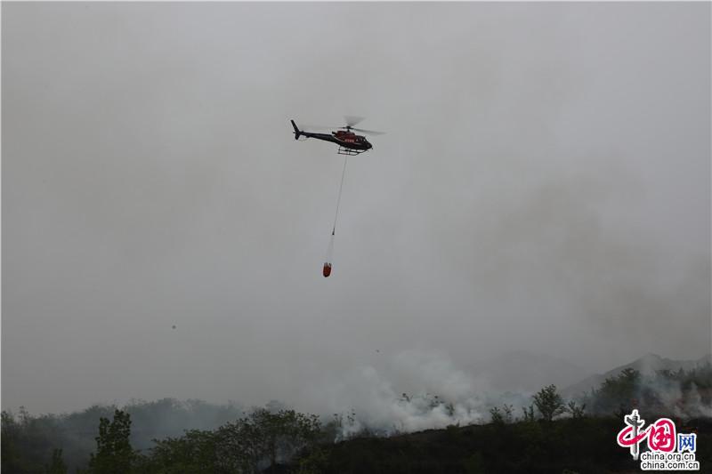 中国发布丨超级震撼!西安举行森林草原火灾扑救实战演练(组图)