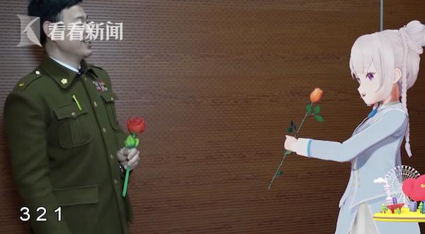 视频 探班杂技剧《战上海》 申䒕雅学起了魔术