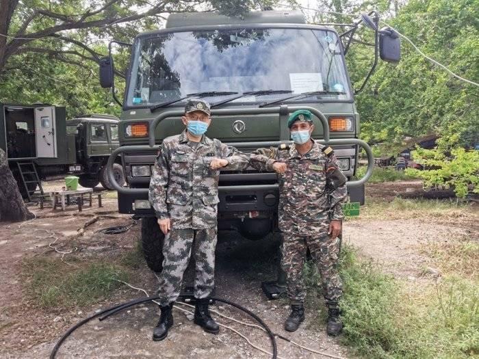 中国野战炊事车在东帝汶洪灾救助中大显身手