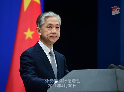 外交部:中方反对将正常的经贸投资和企业合作政治化