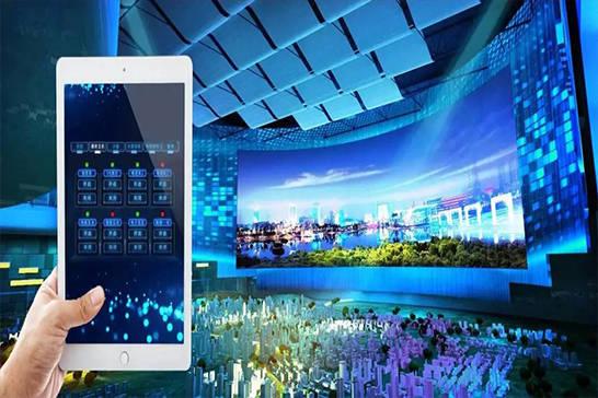灯光开关远程终端控制系统-文化创意展馆智能中控-智能会议室控制系统