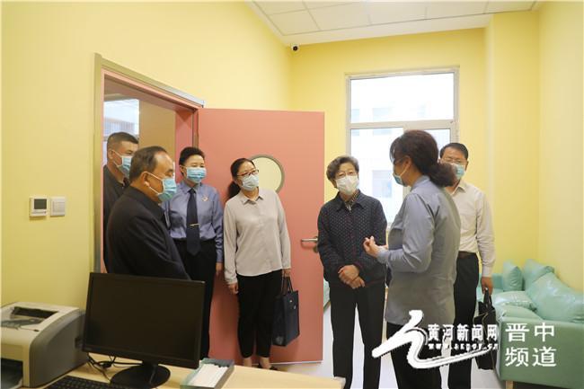 省关工委执行主任安焕晓一行在晋中市人民检察院调