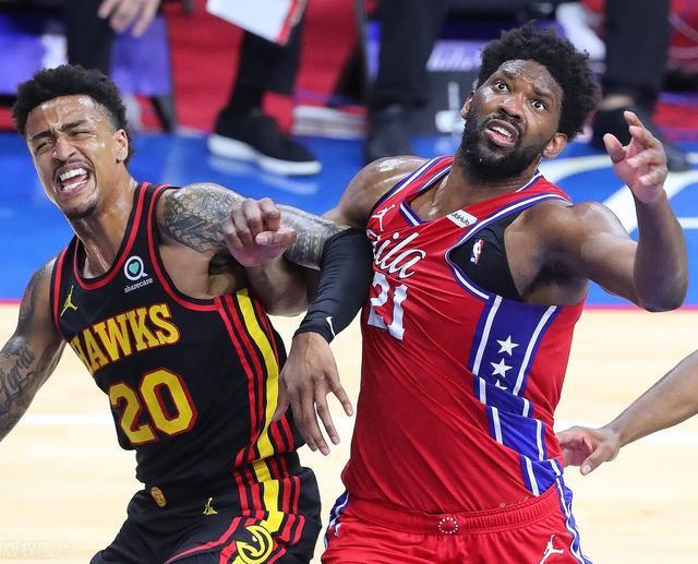 NBA:76人VS老鹰,76人依然攻防失衡,老鹰G2未必没有机会争胜