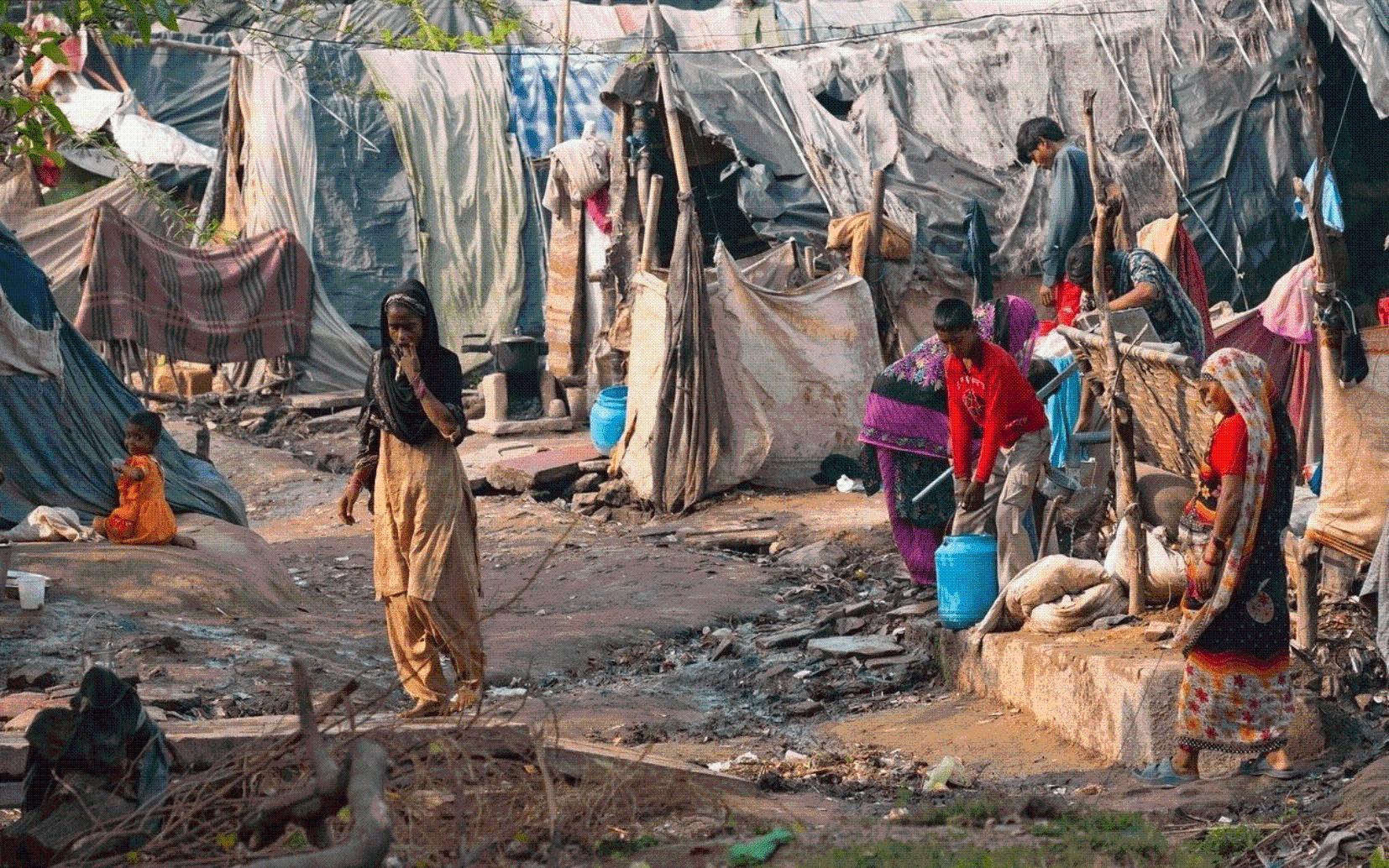 印度贫困人口大量增加,总贫困人口达到1.34亿人
