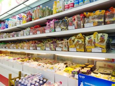 广州部分商超门店外卖订单同比增一倍多