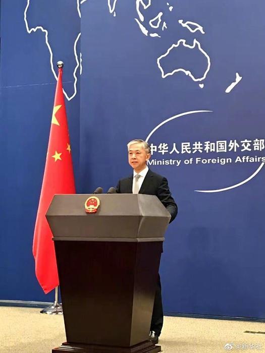 汪文斌说美国代表不了国际社会