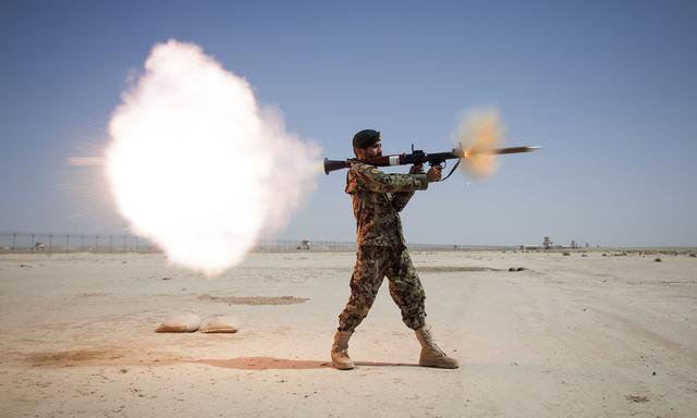 生产了900万枚的传奇榴弹发射器可打直升机,俄罗斯