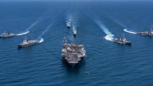 白宫抗议无效!50艘军舰40架战机逼近美国,俄罗斯终于