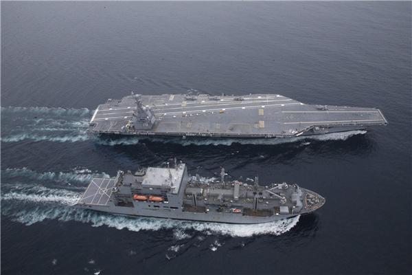 美海军跌落神坛!110万吨巨无霸仅3年问世,引用50项航