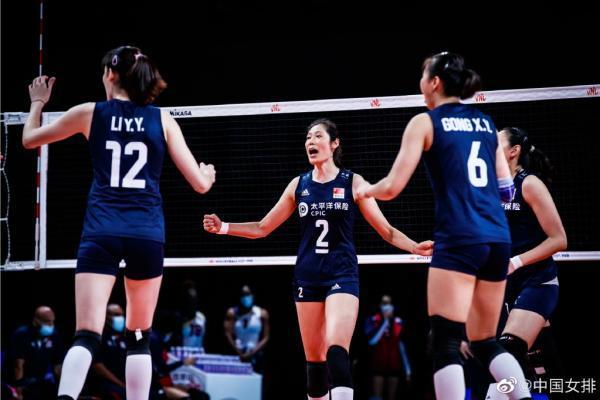 感觉来了!中国女排3-1击败多米尼加,迎来三连胜