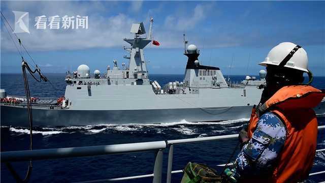 多舰艇南海作战支援训练 锤炼部队协同作战能力