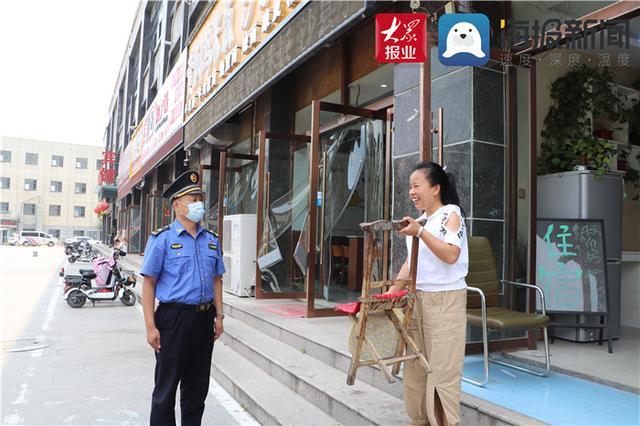 菏泽城管李秋良:执法有温度,擦亮城市窗口