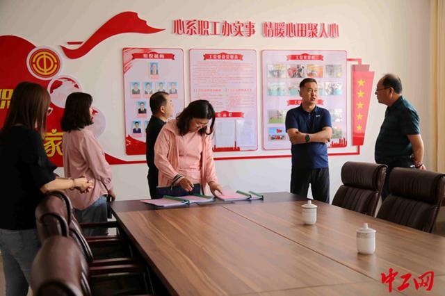 """内蒙古阿拉善盟工会开展""""职工之家""""考核验收工作"""