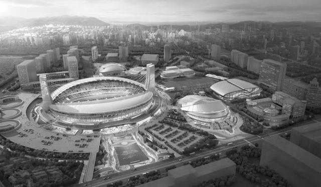 作为亚运足球赛场的杭州黄龙体育中心 现在改造成什么样了?