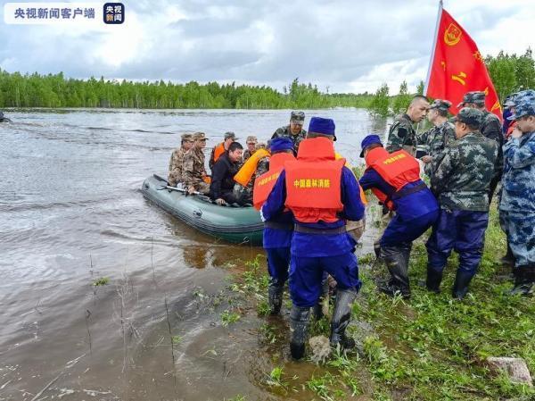 大兴安岭一堤坝溃堤决口致400人被困:已营救出100余人