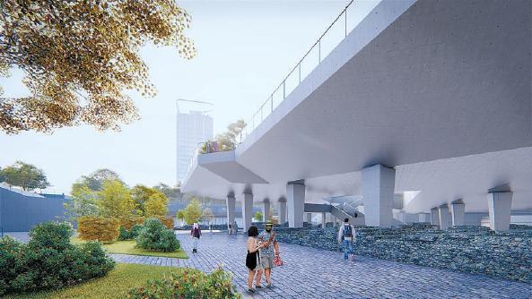 6号线通运门站将建瓮城遗址公园