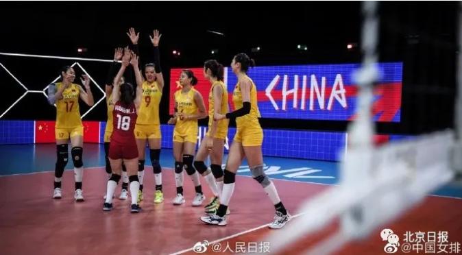 中国女排七连胜!朱婷眼睛被打红,这句话让人心疼